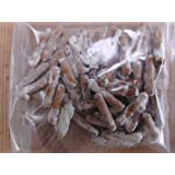 Mushroom Box (TM) - Spinette in legno per la coltivazione di funghi su ceppi d'albero.