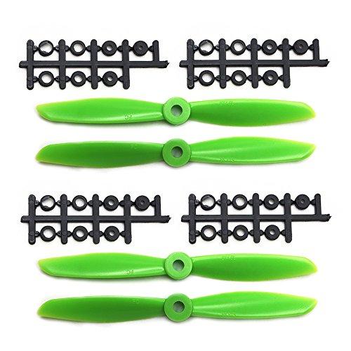 ARRIS 6x4.5 Inch Plastic 2-Blade green 6045 Propeller CW/CCW