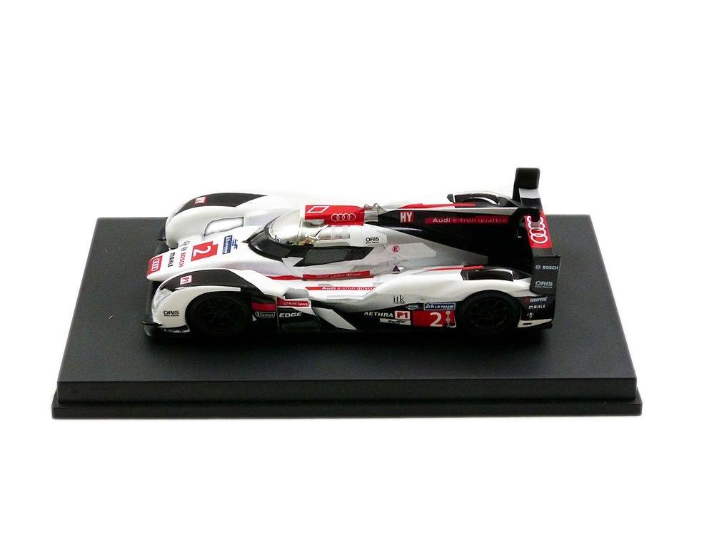 mejor servicio Spark y091 y091 y091 Audi R18 e-tron Quattro LMP1 – Winner Le Mans 2014 – Escala 1 64, Color blancoo plata rojo negro  echa un vistazo a los más baratos