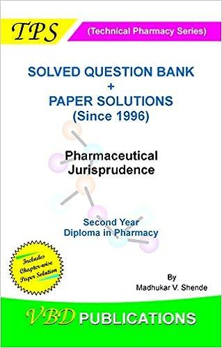 Jurisprudence pdf pharmaceutical books