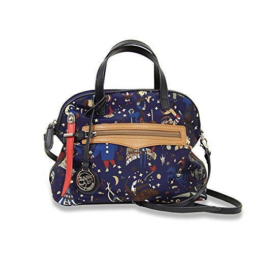 Piero Guidi borsa donna a mano, bauletto Magic Circus Nylon Plus blu - 216693088.79