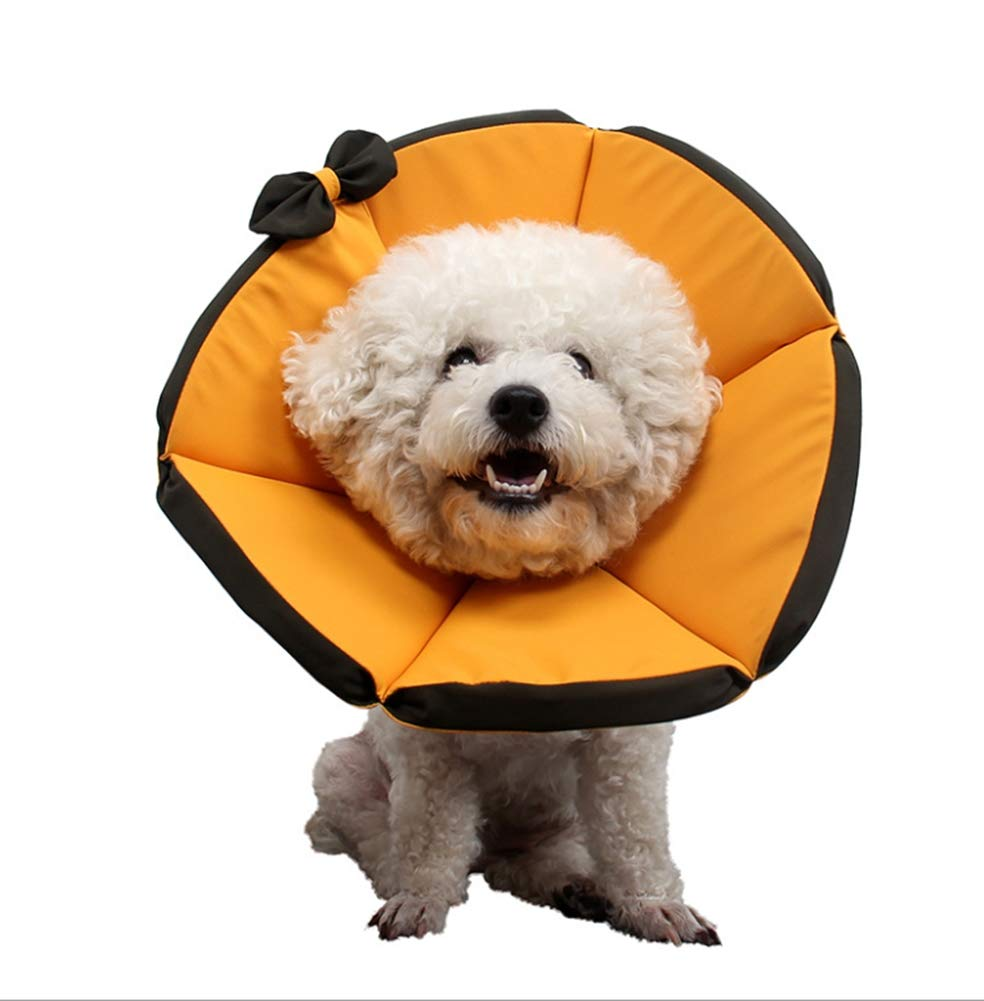 XXL Pet Cone Surgery Recovery E Collar Dog Cat Wound Predective Head Cone Comfortable Adjustable Lightweight Collar Suitable for Pets 1-35kg