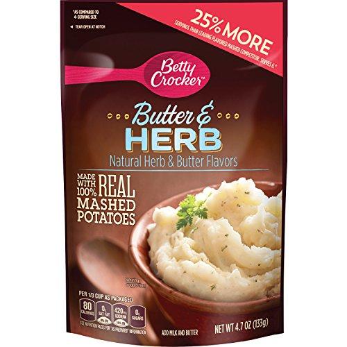 Betty Crocker Homestyle Butter & Herb Potatoes 4.7 oz Pouch
