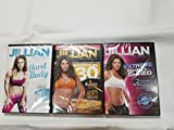 DVD 3 Pack Jillian Michaels Extreme Shed And Shred, Ripped In 30, Hard Body