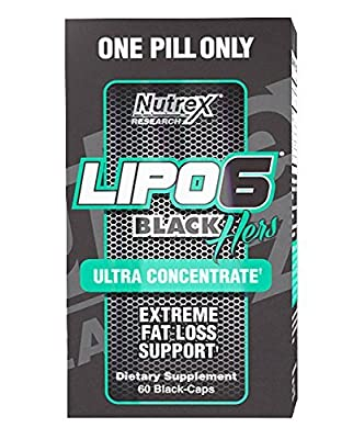 Nutrex Research Lipo 6 Black Hers Ultra Concentrate Diet Supplement Capsules, 120 Count