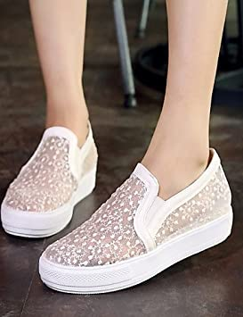 ZQ gyht Zapatos de mujer-Plataforma-Plataforma-Mocasines-Exterior / Vestido /