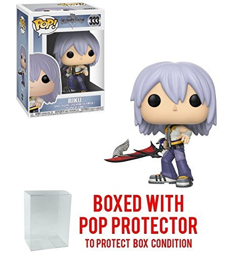 Funko Pop! Disney: Kingdom Hearts - Riku Vinyl Figure (Bundled with Pop BOX PROTECTOR -