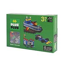 Plus-Plus P3720 Mini Basic 480 3-in-1 Building Kit