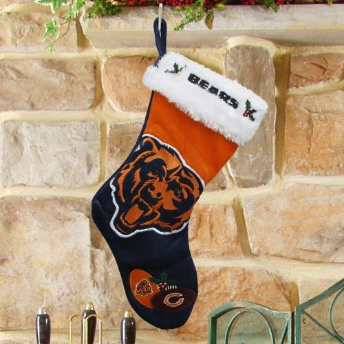 Chicago Bears 2011 Colorblock Stocking