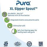 Pura Kiki XL Silicone Sipper Spout, 2/Pack