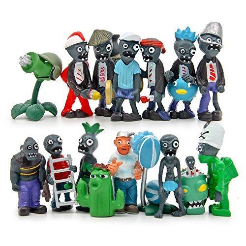 (Maggift Plants vs Zombies Figure PVC Toys,16 Piece (Plants vs Zombies))