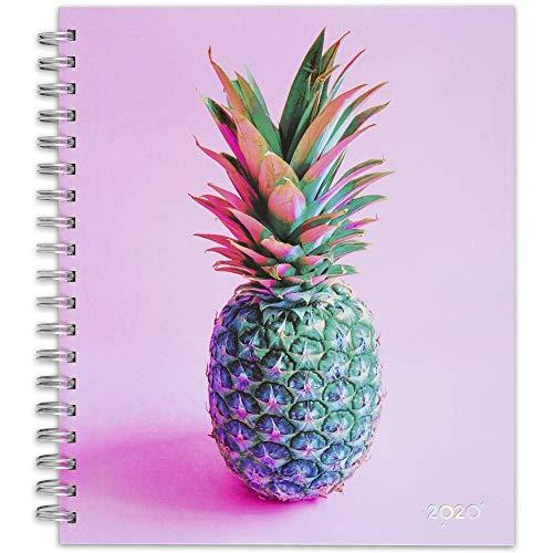 Matt Crump 2020 Weekly & Monthly Planner, 8-1/2u0022 x 10-1/2u0022, Large, Hardcover, Pineapple (6313-904)