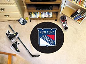 Fanmats New York Rangers Puck Floor Mat
