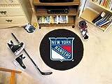 New York Rangers Puck Mat