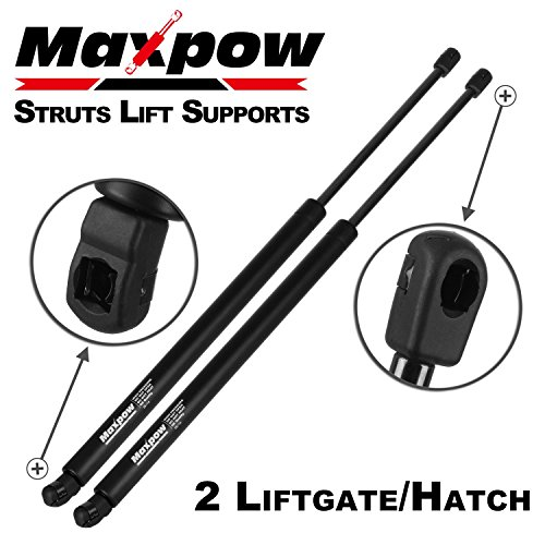 Partsam 2Pcs Tailgate Trunk Liftgate Lift Supports Struts For 2007-2011 GMC Yukon Cadillac Escalade Tailgate