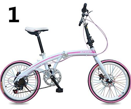 20インチ 折りたたみ自転車 折畳自転車 おりたたみ自転車全11色 おりたたみ自転車W423 B00QA143W4 ピング1 ピング1
