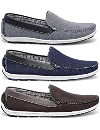 Kit 3 Pares Mocassim Masculino Casual Style Prime Shoes