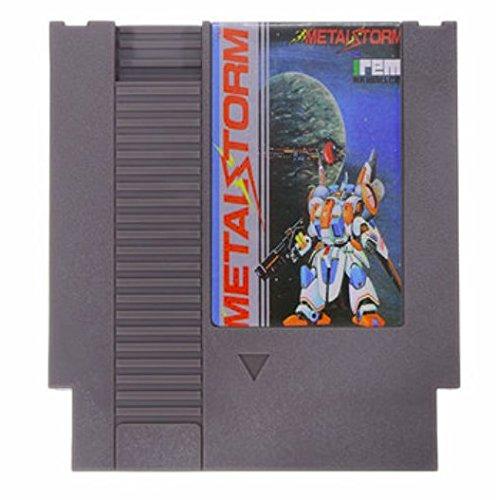 metal-storm-72-pin-8-bit-game-card-cartridge-for-nes-nintendo