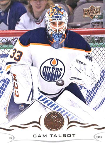2018-19 Upper Deck Hockey Card #74 Cam Talbot Edmonton Oilers Official NHL UD Trading Card from Hockey Cards Upper Deck