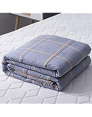 Homelex Weighted Blanket Gewichtete Decke für Erwachsener für besseren Schlaf und Stressabbau