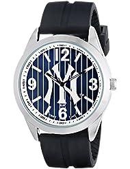 Game Time Mens MLB-VAR-NY3 Varsity Watch - New York Yankees - Pinstripe Logo
