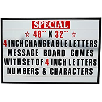 Amazon Com Set Of 421 5 Quot Tall Letters Numbers Amp Symbols