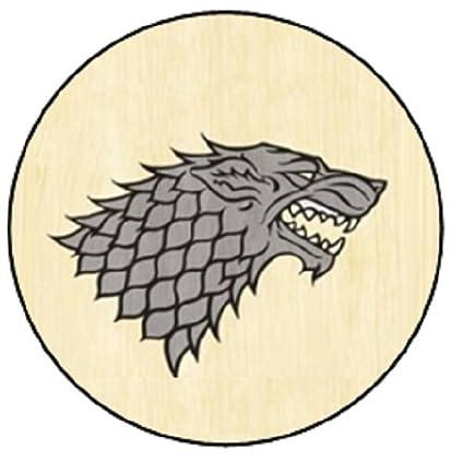 House Stark Sigil - Llavero de Juego de Tronos (58 mm de ...