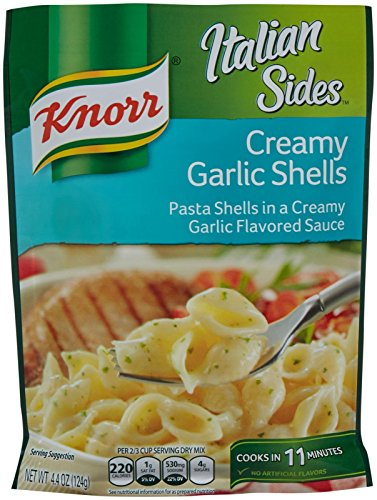 - Knorr Italian Sides - Creamy Garlic Shells 4.4oz (Pack of 3)