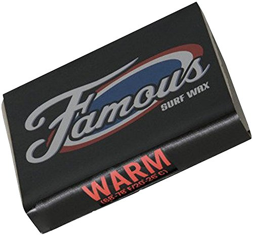 Famous Surf Wax Warm, White (Famous Wax)