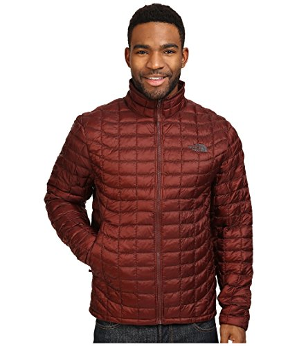 (The North Face Men's Thermoball Full Zip Jacket, Sequoia Red LG)