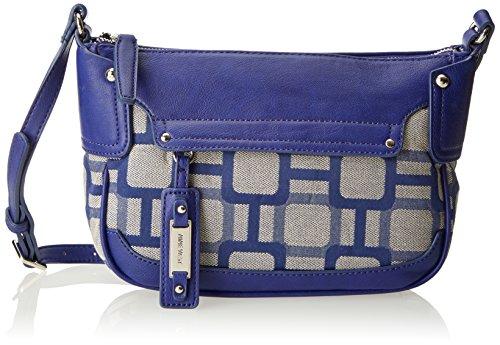 Nine West Mini Vegas Signs Cross Body Bag Blue Bud One Size