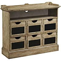 Pulaski Rustic Chalk Board Accent Chest