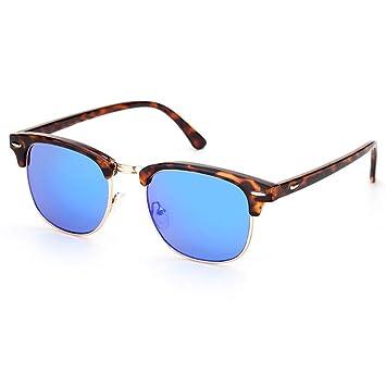 WAQWYQ Gafas Gafas de Sol para Mujer Gafas sin Montura Gafas ...