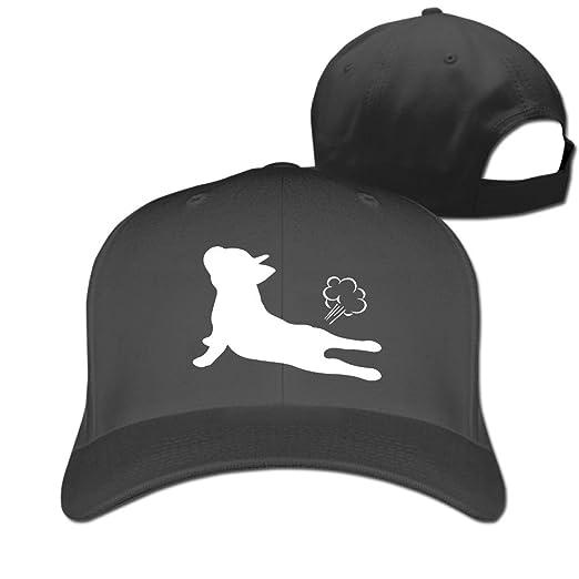 645532919cd ChunYMa0 French Bulldog Yoga Adjustable Back Athletic Trucker Hat for Men  Womens