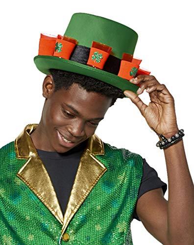 (St. Patrick's Day Shamrock Shot Glass Top Hat)