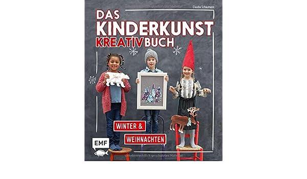 Das KinderkunstKreativbuch Winter Und Weihnachten - Klebe vinyl obi