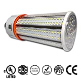 60w corn light - 60W LED Corn Light Bulb, Large Mogul E39 Base, 8115 Lumens, 5000K, IP64 Waterproof Outdoor Indoor Area Lighting, Replacement for Metal Halide HID, CFL, HPS