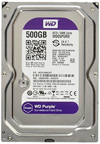 【予約販売品】 Wd Purple Internal Surveillance (WD05PURX) Surveillance Hard Drive - Internal (WD05PURX) [並行輸入品] B01JVWZOUS, 川越町:a4046a6c --- a0267596.xsph.ru