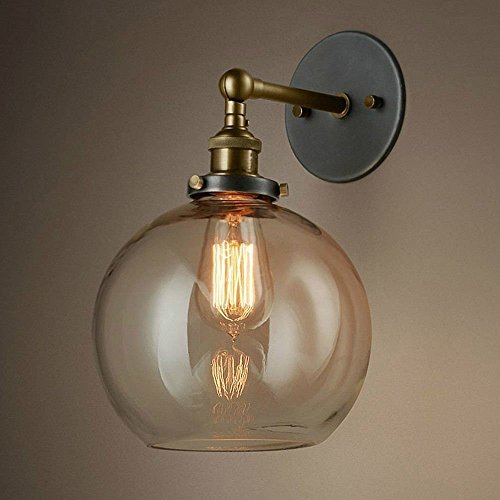 edison style lighting fixtures. Contemporary Fixtures NOCHX Vintage Industrial Edison Style Finish Round Glass Ball Shape Wall  Lamp Lighting Fixture Lights With Fixtures O