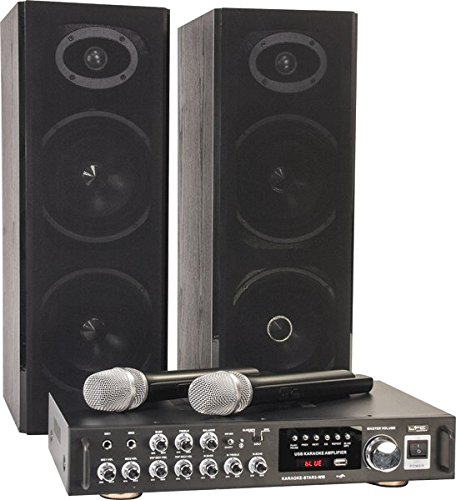 Ltc 10-7016 Karaoke Set mit Digitaldisplay und Bluetooth Lotronic DE KARAOKE-STAR3-WM