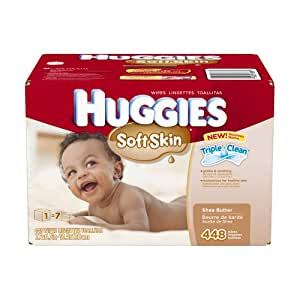 Amazon Com Huggies Soft Skin Baby Wipes Pop Up Refill
