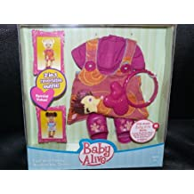 Baby Alive Fun and Fancy Reversible Dress Medium (Fits Whoopsie Doo, Changing Time Baby, Baby's New Teeth, Better Now Baby, Wets and Wiggles, and Baby All Gone)