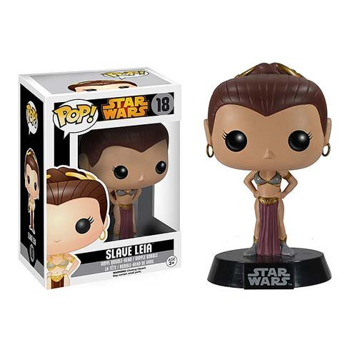 Funko POP Star Wars: Slave Leia Action Figure