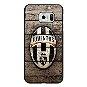 Samsung Galaxy S6 Edge Phone Case Retro Style Juventus FC Logo Phone Case Cover for Samsung Galaxy S6 Edge Official Serie A Club Cover