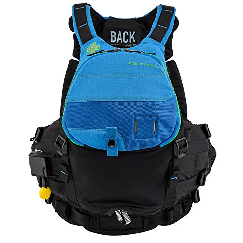 Astral Greenjacket Rescue Life Vest PFD - Deep Water Blue - M/L (Rescue Life Vest)