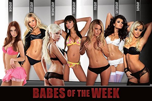 Babes of the Week Poster 18x12