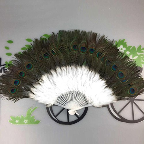Buy peacock fans for wedding
