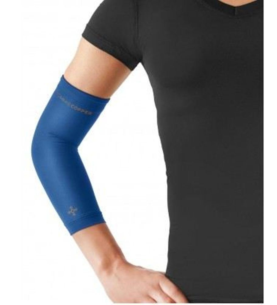 Tommie Copper Women's Recovery Vantage Elbow Sleeve, Cobalt Blue, X-Large