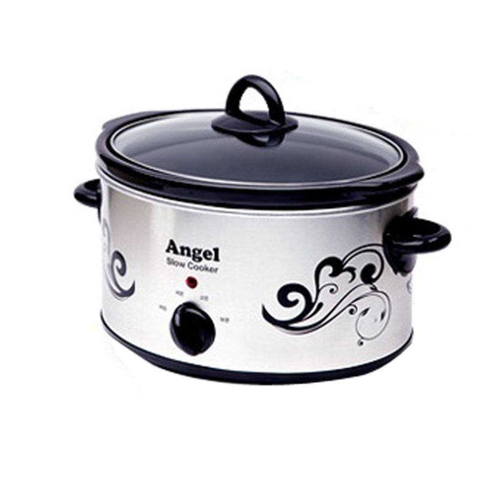 [Angel] Slow Cooker Slow Food Maker GOLK-3500E electric steamer Egg Steaming pot 220V [エンジェル]スロークッカースローフードメーカーGOLK-3500E電気蒸し器卵蒸しポット220V [並行輸入] (3L)   B01L19DLCM