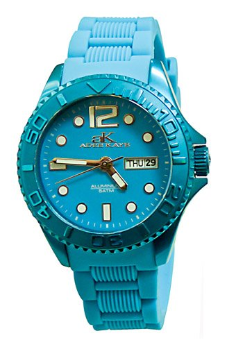 Adee Kaye Women's AK5433-L (BLU) D' Alluminio Collection Watch